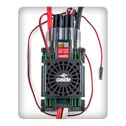 Phoenix Edge HVF 160 w/Fan 50V 160-Amp ESC by Castle Creations
