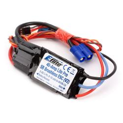 40-Amp Lite Pro Switch-Mode BEC Brushless ESC (V2) by E-flite