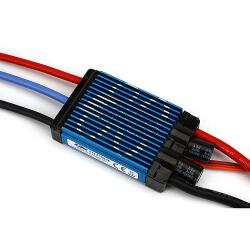 80-Amp Pro Switch-Mode BEC Brushless ESC, EC5 (V2) by E-flite