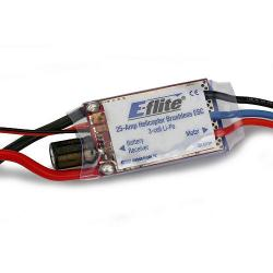 25-Amp Helicopter Brushless ESC by E-flite