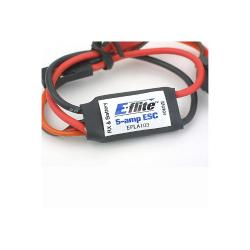 5-Amp Micro Brushed ESC by E-flite