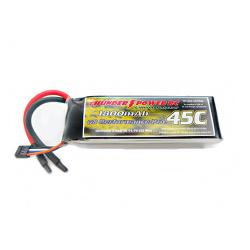 1800mAh 3S 11.1V G8 Performance Pro 45C LiPo by Thunder Power RC