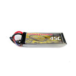 1300mAh 3S 11.1V G8 Performance Pro 45C LiPo by Thunder Power RC