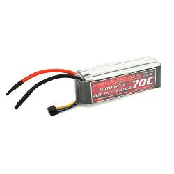 1800mAh 4S 14.8V G8 Pro Force 70C LiPo by Thunder Power RC