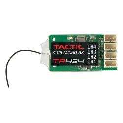 Tactic TR424 4-Channel 2.4GHz SLT Micro Receiver (TACL0424)