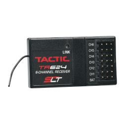 Tactic TR624 6-Channel 2.4GHz SLT Receiver (TACL0624)