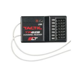 Tactic TR625 6-Channel 2.4GHz SLT Rx Twin Antennas (TACL0625)